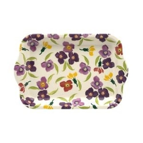 Emma Bridgewater Melamine Tray S Wallflower