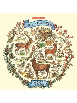 Emma Bridgewater Kalender Deer in the Woods 2020