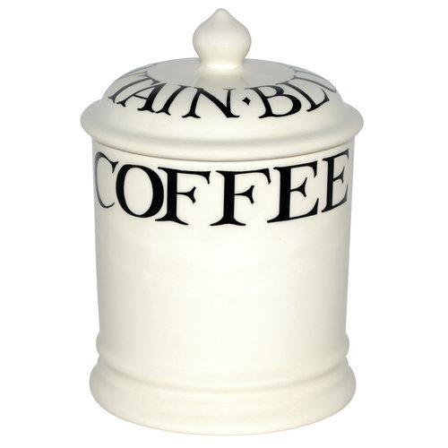 Emma Bridgewater 1 pt StorageJar Coffee Black Toast old