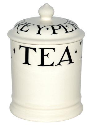 Emma Bridgewater 1 pt Storage Jar Tea Black Toast old