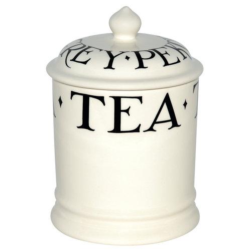 Emma Bridgewater 1 pt StorageJar Tea Black Toast old