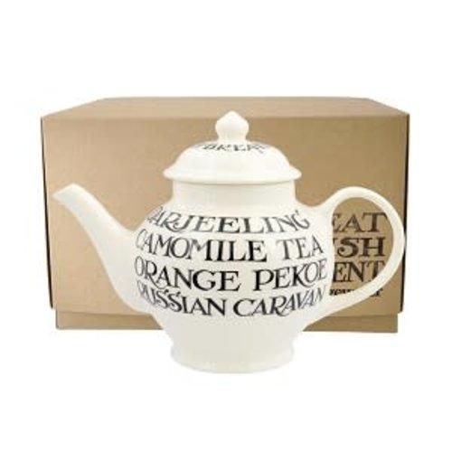 Emma Bridgewater 2 Mug Teapot Black Toast