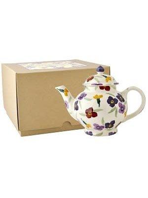 Emma Bridgewater 4 Mug Teapot Wallflower