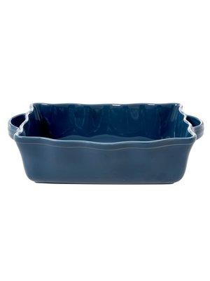 Rice Ovenschaal rechthoek large Dark Blue
