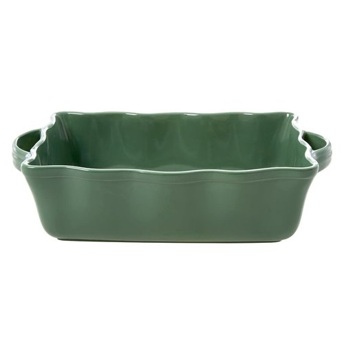 Rice Oven Dish large Forest Green