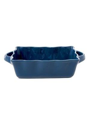 Rice Ovenschaal rechthoek medium Dark Blue