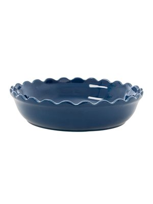 Rice Pie Dish large Dark Blue