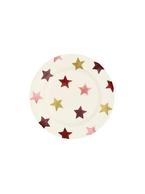 Emma Bridgewater 6.5 Plate Pink & Gold Stars