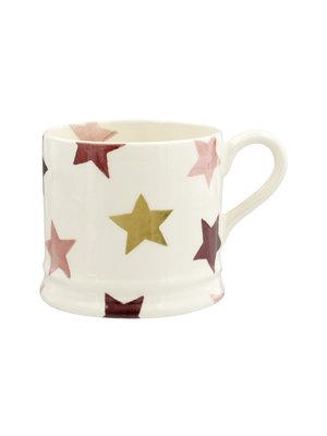Emma Bridgewater Mug small Pink & Gold Stars