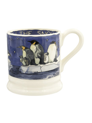 Emma Bridgewater 0.5 pt Mug Winter Penguins