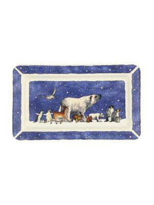 Emma Bridgewater Oblong Plate medium Winter Animals