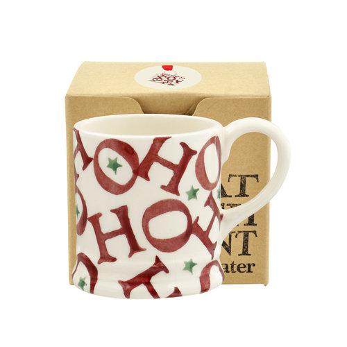 Emma Bridgewater Tiny Mug HoHoHo all over