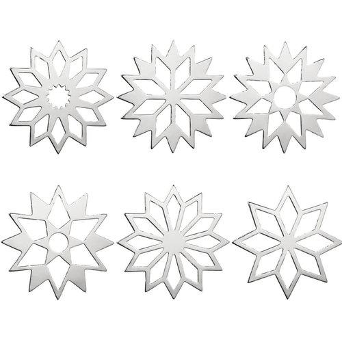 Räder Table stars Set silver shiny