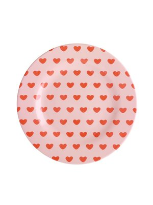 Rice Melamine lunch bord Sweet hearts