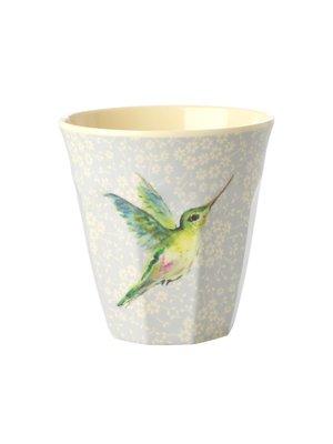 Rice Melamine beker Hummingbird
