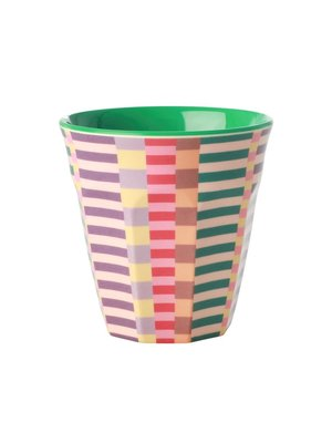 Rice Melamine beker Summer Stripes