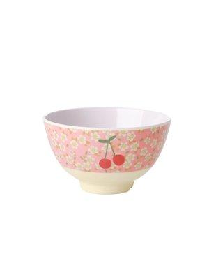 Rice Melamine kom small - Small Flowers & Cherry