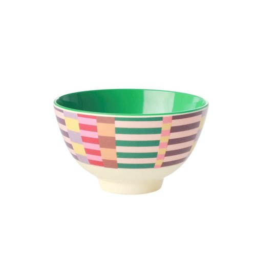 Rice Melamine kom small Summer Stripes