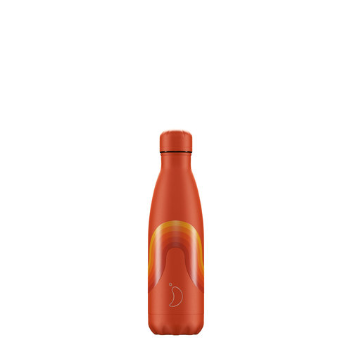 Chilly's Bottle Chilly's Bottle 500ml Orange Wave