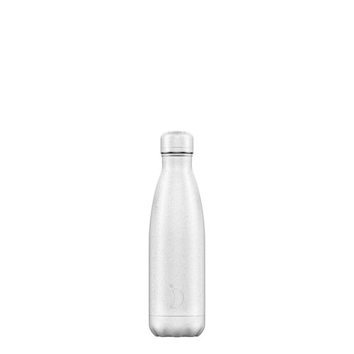 Chilly's Bottle Chilly's Bottle 500ml White Glitter