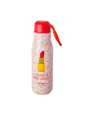 Rice RVS Thermosfles 500ml Small Flower Lipstick
