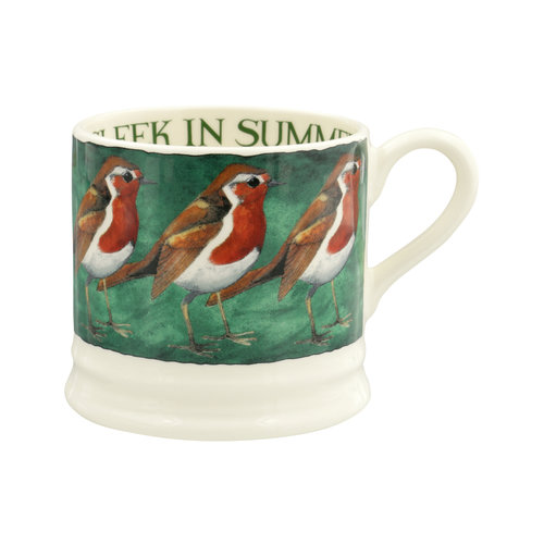 Emma Bridgewater Small Mug Robin on the Green