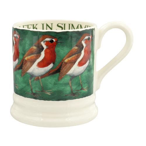 Emma Bridgewater 0.5 pt Mug Robin on the Green