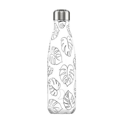 Chilly's Bottle Chilly's Bottle 500ml Line Drawing Leaves