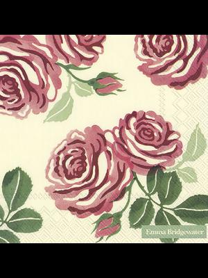 Lunch Servet Pink Roses