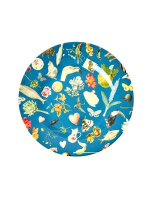 Rice Melamine lunch bord Art Blue