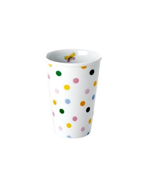Rice Mok 300ml 'Let's Summer' Dots