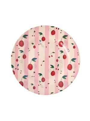 Rice Melamine lunch bord Cherry
