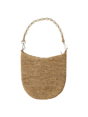 CurrybySelma Else tas / bag Tea beaded handle