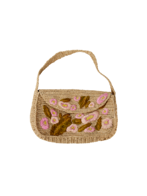 CurrybySelma Dorthe tas / bag Tea w. Flower Embroidery