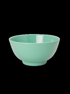 Rice Melamine kom solid Emerald Green