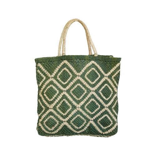 the Jacksons Shopper Jute L Ingrid forest/natural