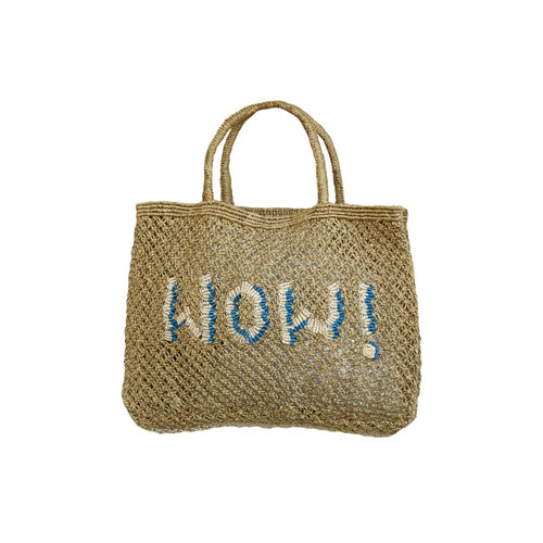 the Jacksons Shopper Jute S Wow! khaki/ocean/natural