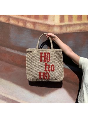 the Jacksons Shopper Jute L Ho Ho natural/red