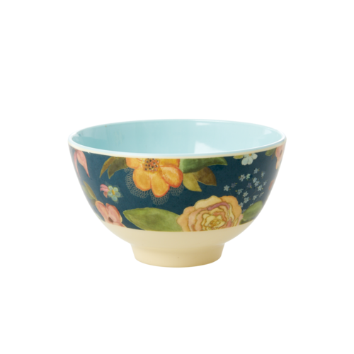 Rice Melamine kom small Selma's Fall Flower