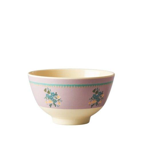 Rice Melamine kom S Lavender Flower