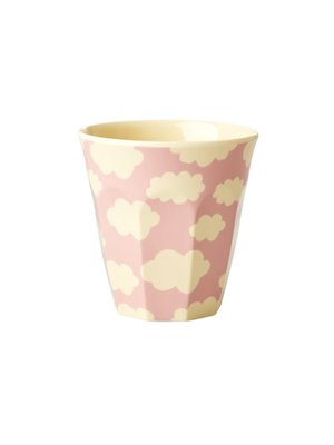 Rice Kids melamine beker S Cloud roze