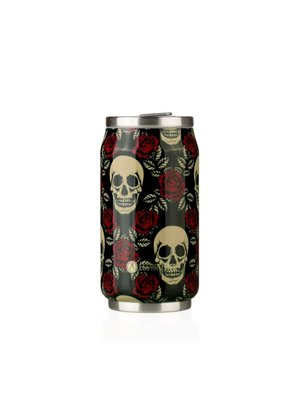 Les Artistes Pull Can'it 280ml Rose & Skull