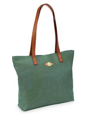 Pip Studio Shopper green