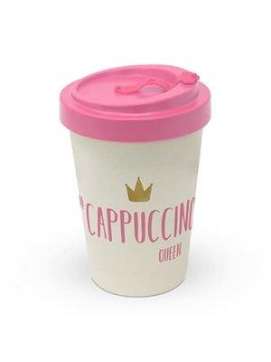 PPD To Go Beker / Travel mug Cappuccino Queen