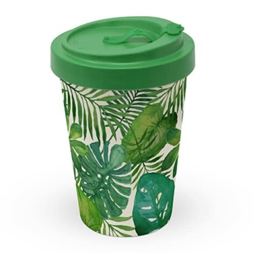 PPD To Go Beker / Travel mug Feuilles Tropicales