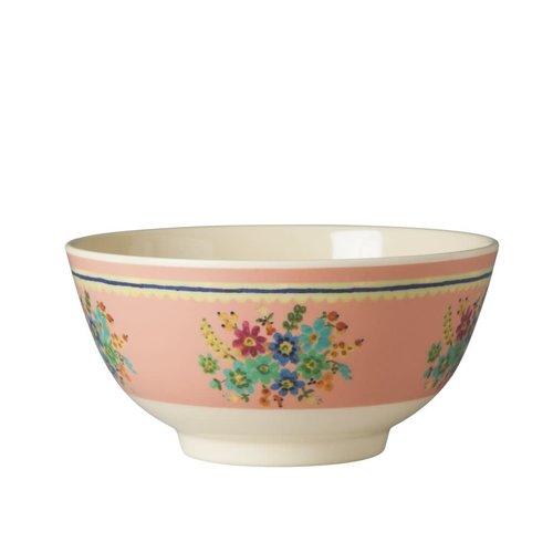 Rice Melamine kom Vintage S Pink Flower