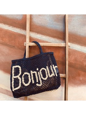 the Jacksons Shopper Jute S Bonjour indigo/natural