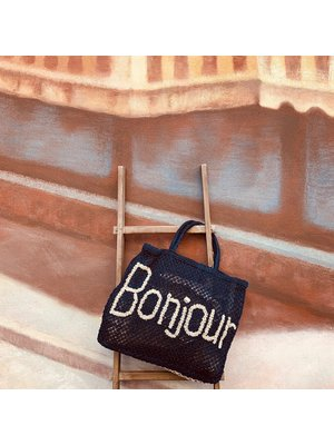 the Jacksons Shopper Jute L Bonjour indigo/natural