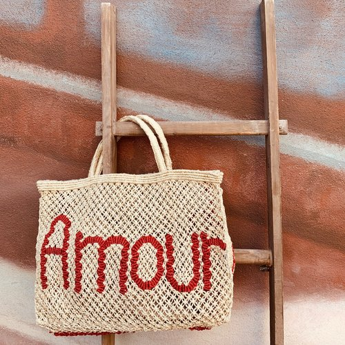 the Jacksons Shopper Jute S Amour natural/red