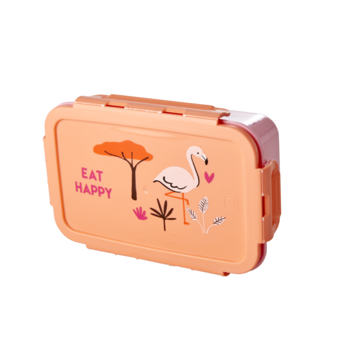 Rice Lunchbox Jungle Animals Flamingo